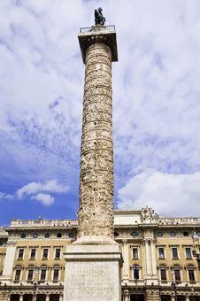 Free Column Of Marcus Aurelius Stock Photo - 15182660