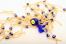 Free Evil Eye Beads Royalty Free Stock Photo - 15182705