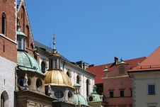 Free Cathedral At Wawel Hill In Cracow Stock Photography - 15182922