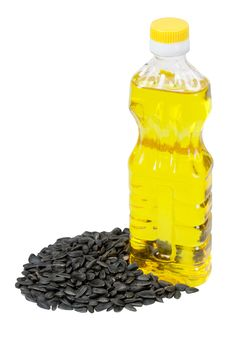 Free Vegetable Sunflower Oil And Sunflower Royalty Free Stock Images - 15183179