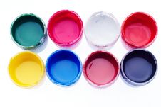 Free Watercolour Paints Royalty Free Stock Images - 15183189