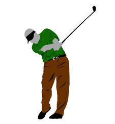 Free Golf Swing Stock Image - 15183231