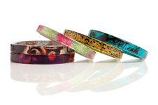 Free Bracelets Isolated On White Stock Photo - 15183290