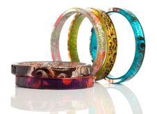 Free Bracelets Isolated On White Stock Photography - 15183322