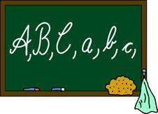 Free Blackboard ABC Stock Image - 15183351