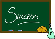 Free Blackboard Success Stock Photography - 15183412