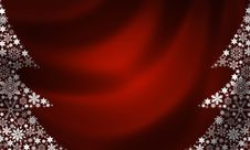 Free Christmas Tree Background Royalty Free Stock Photos - 15183458