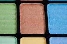 Make-up Eyeshadows Stock Photography