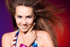 Free American Woman Stock Image - 15184361
