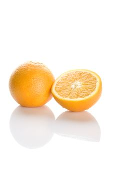 Free Juicy Orange Refreshment Royalty Free Stock Photos - 15184988