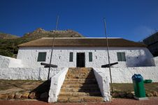 Cape Dutch Architecture In Cape Town Royalty Free Stock Photo