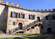 Free Castle Inner Keep Royalty Free Stock Images - 15185149