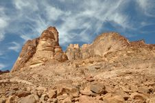Lawrence Spring Rock Formation Royalty Free Stock Images