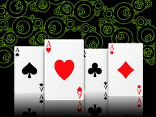 Free Poker Aces Stock Images - 15185964
