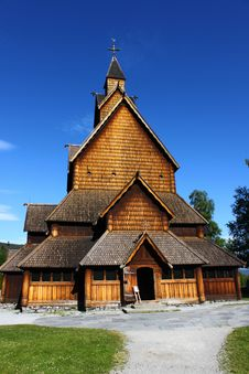 Free Heddal Stave Church Royalty Free Stock Images - 15187269