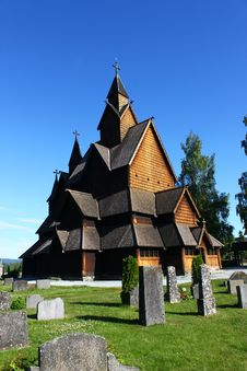 Free Heddal Stave Church Stock Photography - 15187282