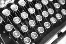 Free Vintage Typewriter Stock Photography - 15188052