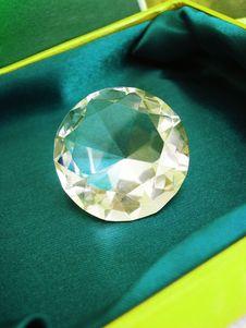 Beautiful Diamond Crystal Royalty Free Stock Images