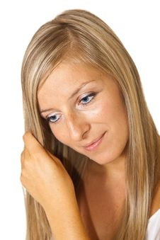 Free Blond Tan Woman Portrait Stock Photos - 15188903