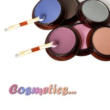 Free Make-up Eyeshadows Stock Photography - 15189352