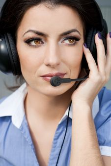 Free Girl Commentator Stock Images - 15189404