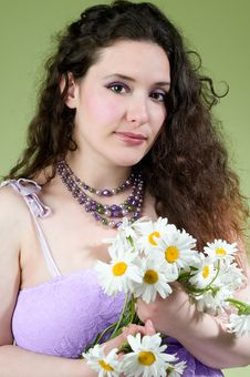 Free Lovely Young Woman Wearing Lacy Dress Stock Image - 15189581