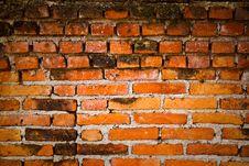 Free Old Brick Wall Texture Royalty Free Stock Photos - 15189788