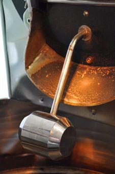 Coffee Roast Machine Stock Image