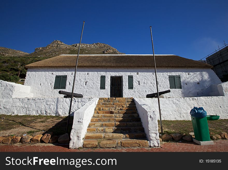 Cape Dutch Architecture In Cape Town Free Stock Images Photos