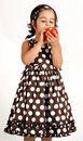 Free Toddler Eating Apple Royalty Free Stock Image - 15198886