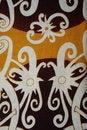 Free Orang Ulu Motif Patterns Royalty Free Stock Photography - 15199027