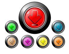 Free Icon Button Series - Download Royalty Free Stock Photo - 15190535