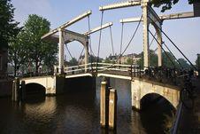 Free A Bridge In Amsterdam. Stock Photos - 15190863