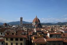 Free Florence Italy And The Duomo Royalty Free Stock Image - 15190926