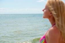 Free Woman Near Sea Stock Image - 15191211