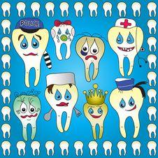 Free Teeth_cartoon Royalty Free Stock Images - 15191309