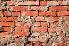 Free Aging, Brickwork, Close-up. Stock Photos - 15191353