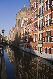 Free Amsterdam Typical Houses Stock Photography - 15191392