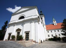 Free Church In Vranov Near Brno Stock Photography - 15191402