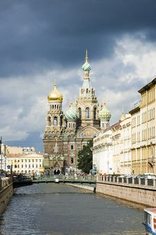 Free Church Of The Savior On Blood Royalty Free Stock Images - 15191449