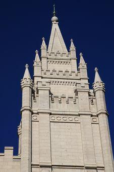 Mormon Temple,Salt Lake City Stock Image