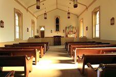 Free The White Chapel Internal ,Utah Royalty Free Stock Images - 15191609