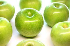 Free Green Apples Royalty Free Stock Photos - 15191948