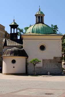 Free St. James Church On Main Square In Cracow Royalty Free Stock Image - 15192196