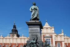 Free Statue Of The Polish Poet Adam Mickiewicz Royalty Free Stock Photo - 15192265