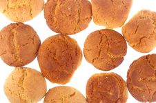Free Peanut Butter And Ginger Cookies Royalty Free Stock Photos - 15192418