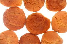 Free Peanut Butter And Ginger Cookies Royalty Free Stock Photography - 15192437