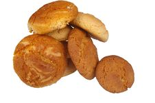 Free Peanut Butter And Ginger Cookies Stock Photo - 15192500