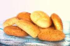 Free Peanut Butter And Ginger Cookies Royalty Free Stock Images - 15192559
