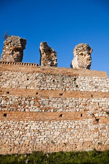 Free Details Of Nicopolis Archeological Site Stock Images - 15192584